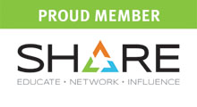 Fischer International Systems Corporation is a proud member of SHARE.